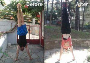 handstand alignment