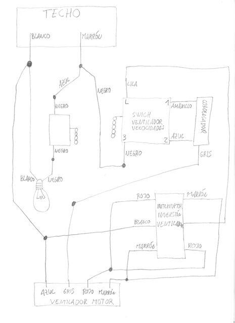Diagrama De Cableado De Ventilador De Techo 43 Wiring Diagram