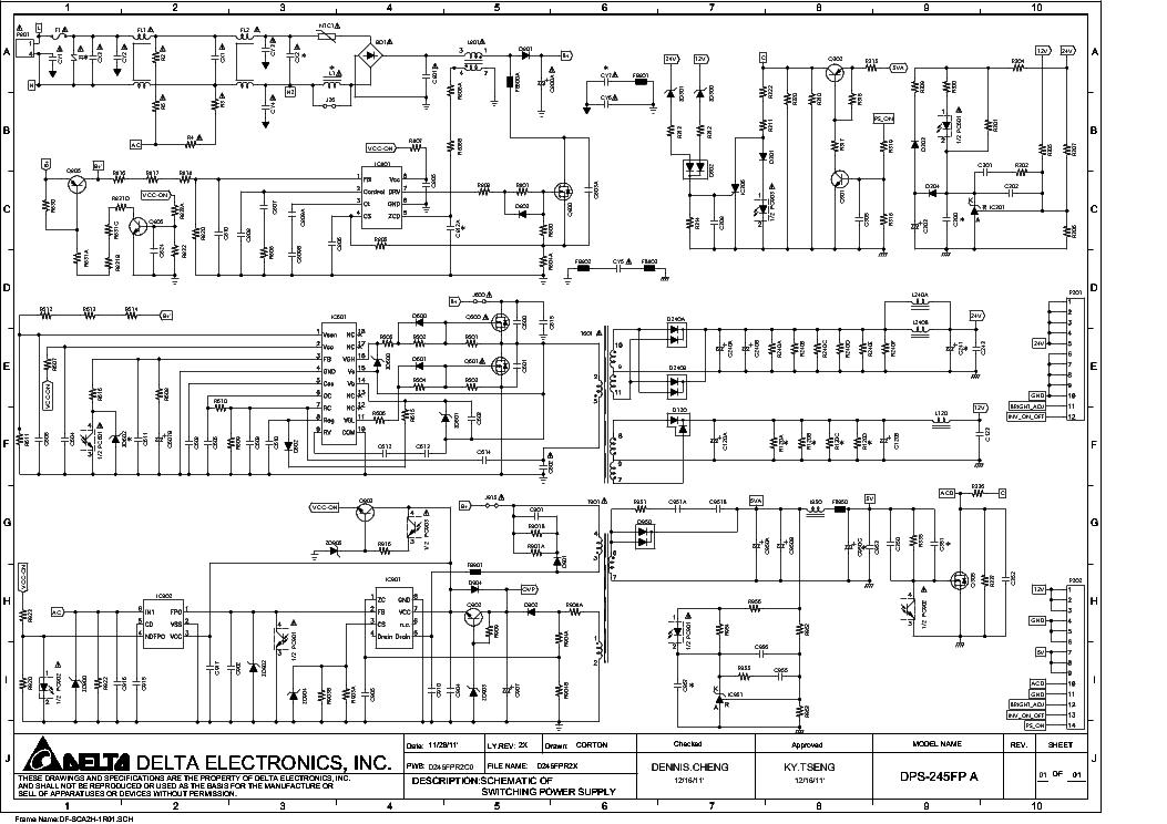 ACTIVATE POWER SUPPLY MOD DELTA DPS-2400AB - YoReparo