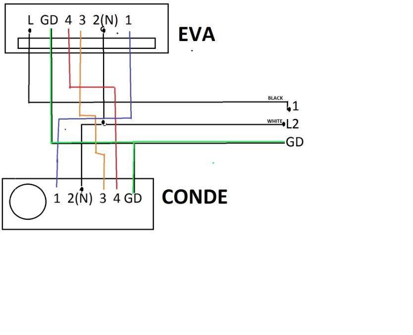 mini split diagrama wiring diagram general Diagrama En Blanco