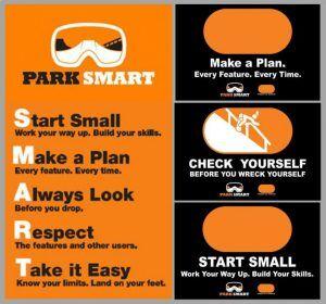 park smart terrain park guidelines