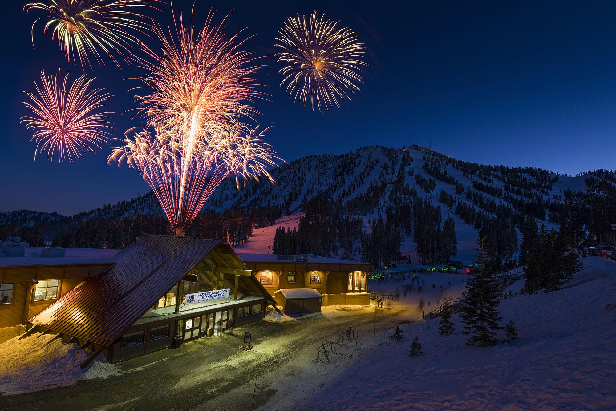 Fireworks Main Lodge