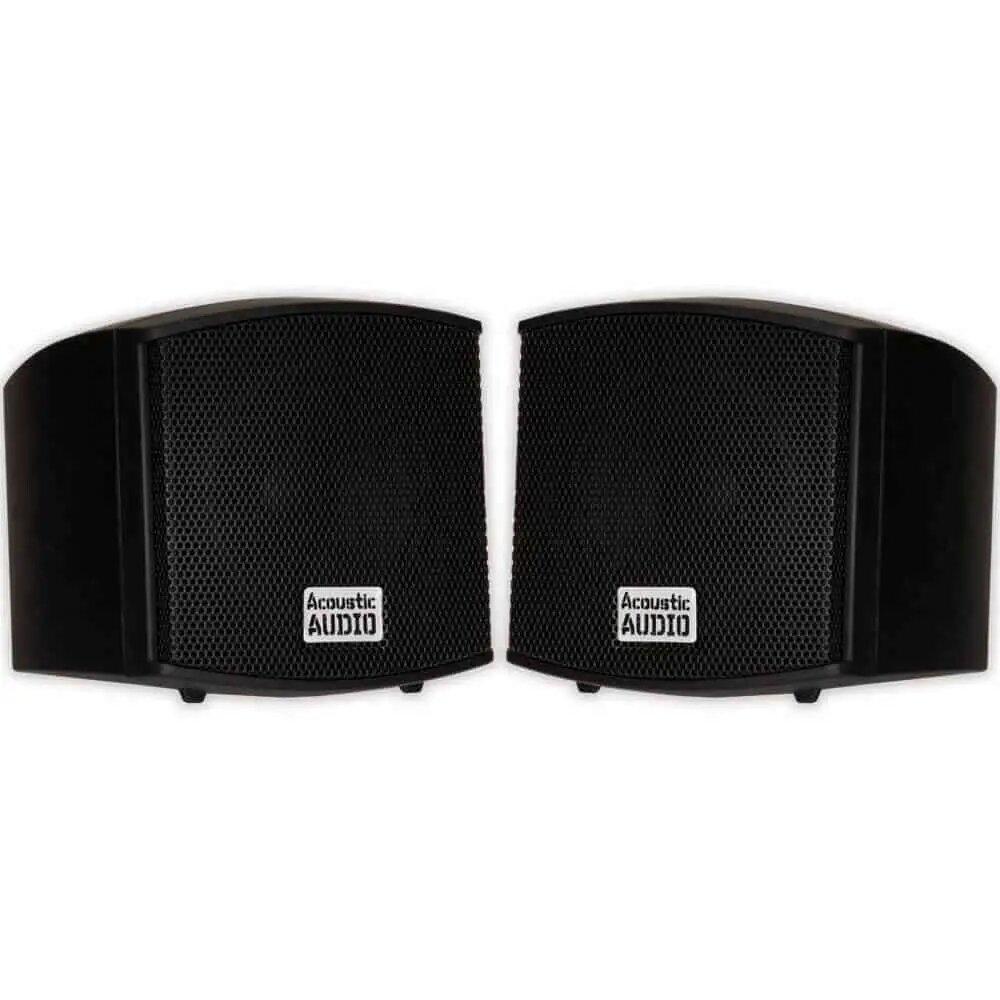 Acoustic Audio AA321B Mountable Indoor Speakers