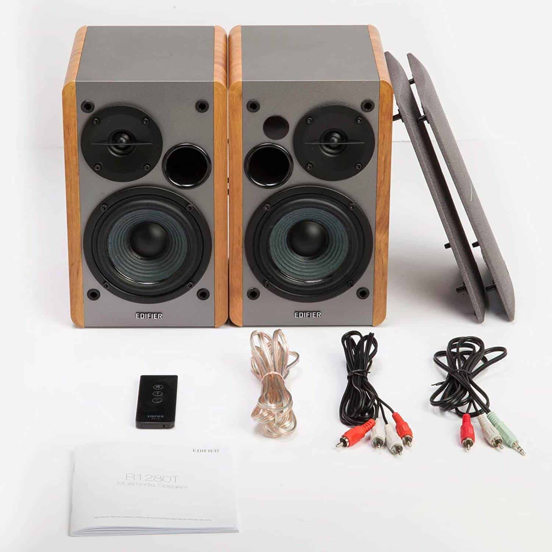 Edifier R1280T Active Near-Field Studio Bluetooth Bookshelf Speakers