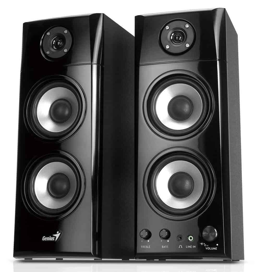 Genius 3-way Hi-Fi Speakers