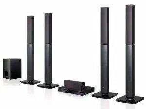 LG Bluetooth Multi Region Home Theater Speaker System