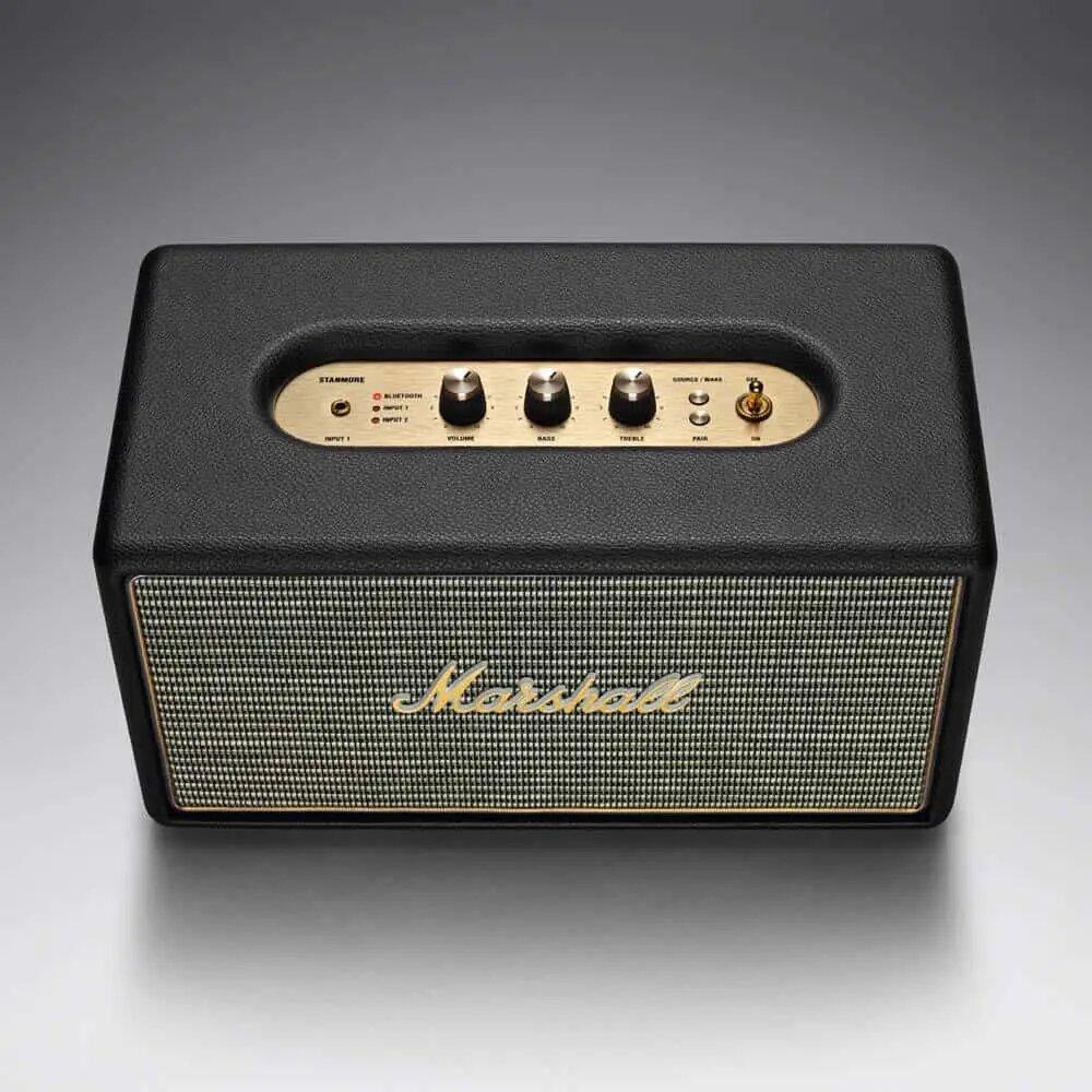 Marshall Black Stanmore Bluetooth Speaker