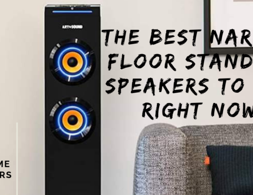 narrow floor standing speakers