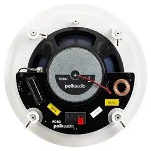 Polk Audio RC80i 2-way Premium In-Ceiling 8 Round Speakers
