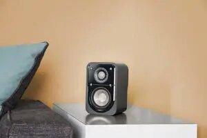 Polk Audio Signature Series S10 Bookshelf Speakers for Home Theater