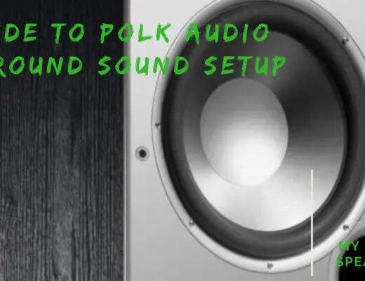 Polk audio surround sound setup
