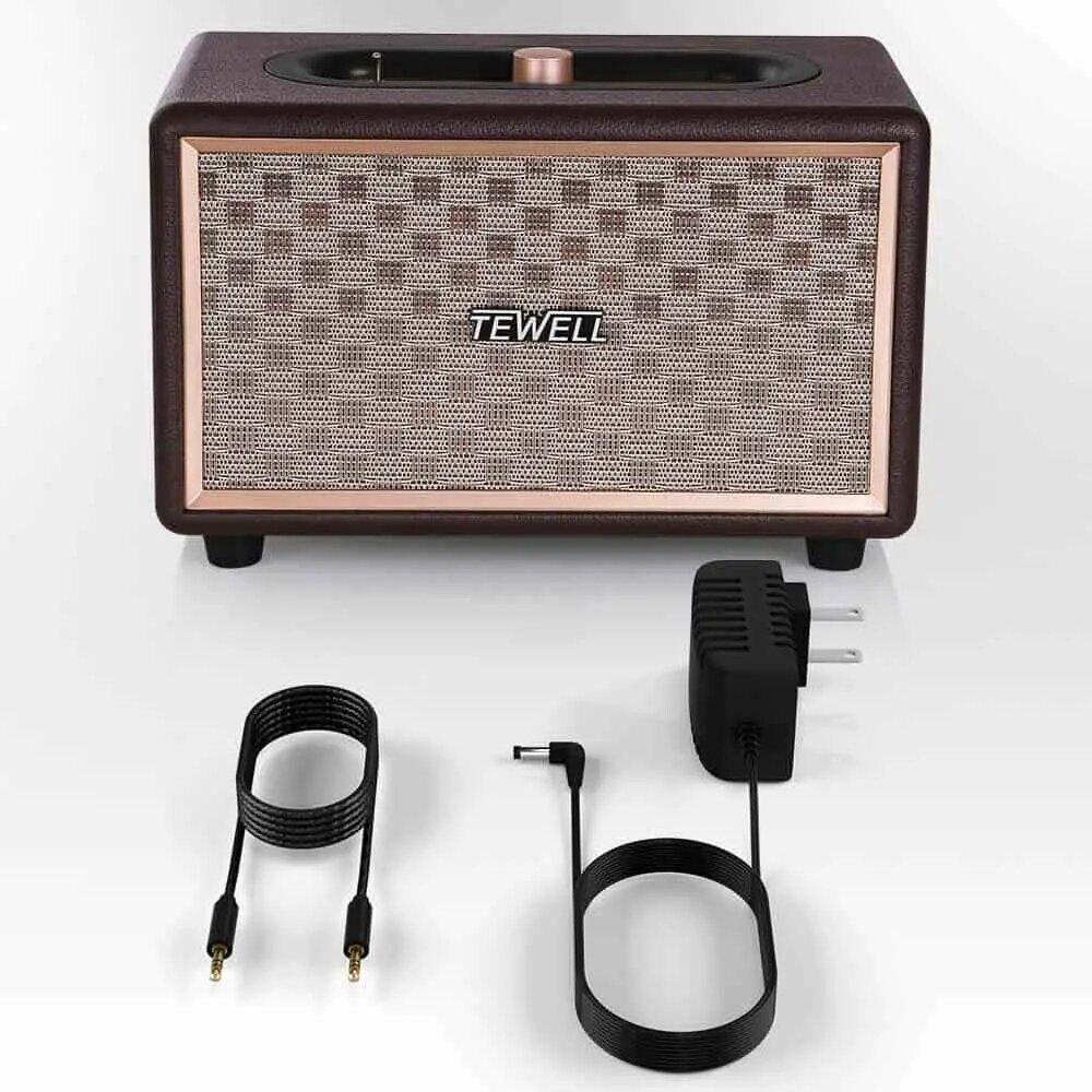 TEWELL portable vintage speaker