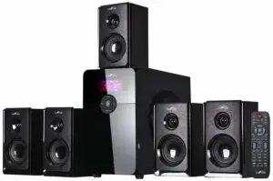 beFree 5.1 Channel Surround Bluetooth Speaker System