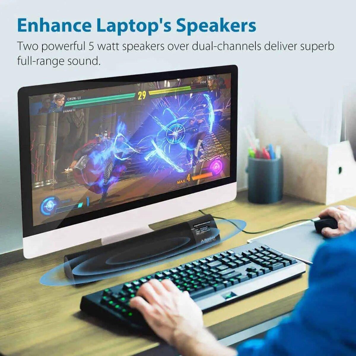 Avantree AptX Low Latency Portable Sound Bar