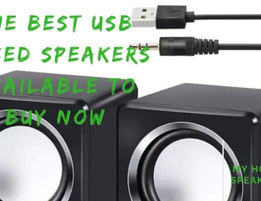 usb based speakers