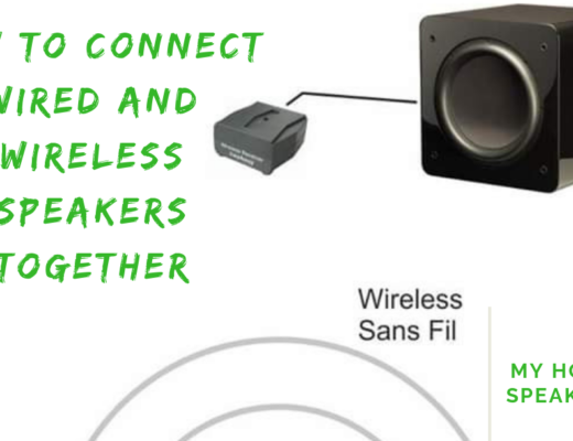 wired and wireless speakers together