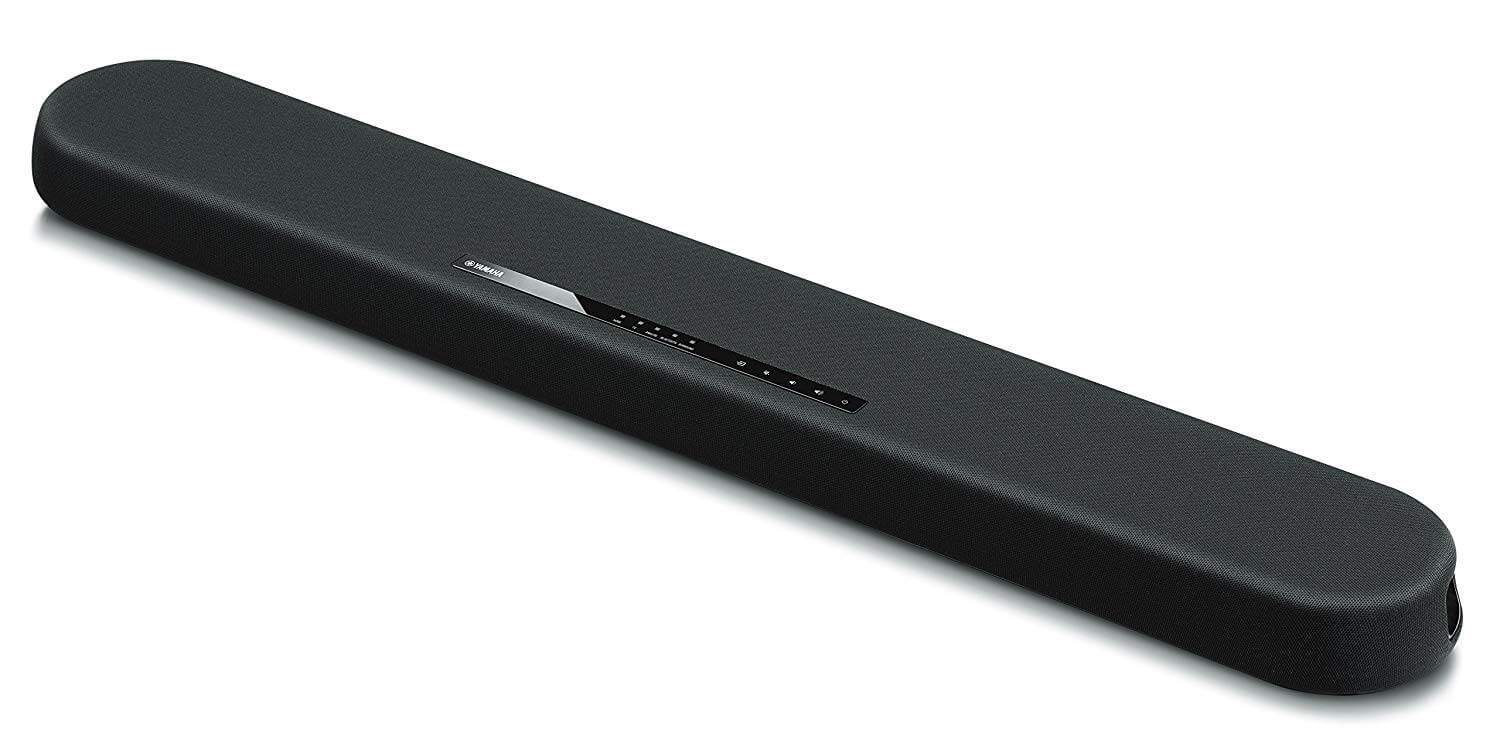 Bluetooth Yamaha Sound Bar with Built-in Subwoofers