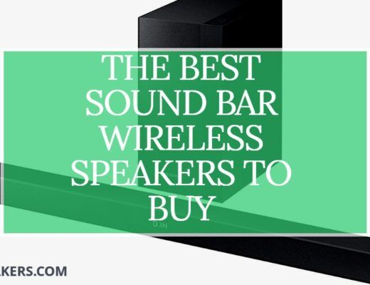 sound bar wireless speakers