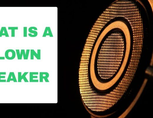 what is a blown speaker