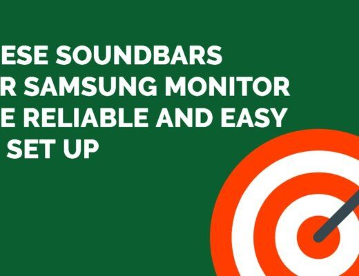 soundbars for Samsung monitor