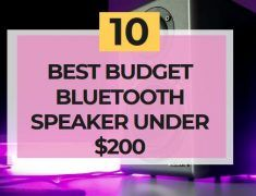 Best Budget Bluetooth Speaker Under $200