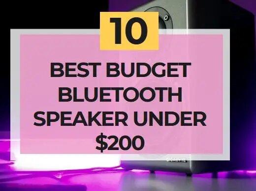 best budget bluetooth speaker under 200