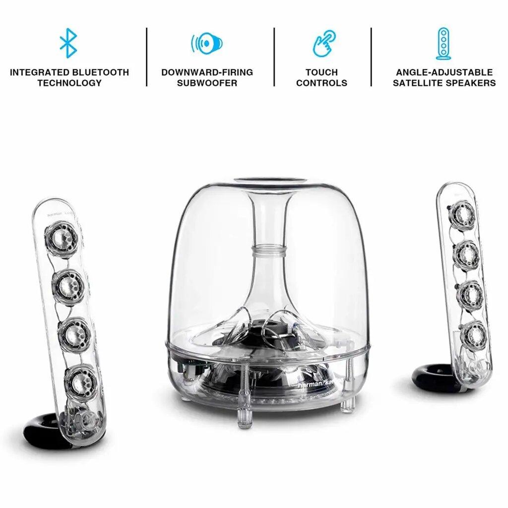 Harman Kardon SoundSticks Wireless Bluetooth Enabled Speaker