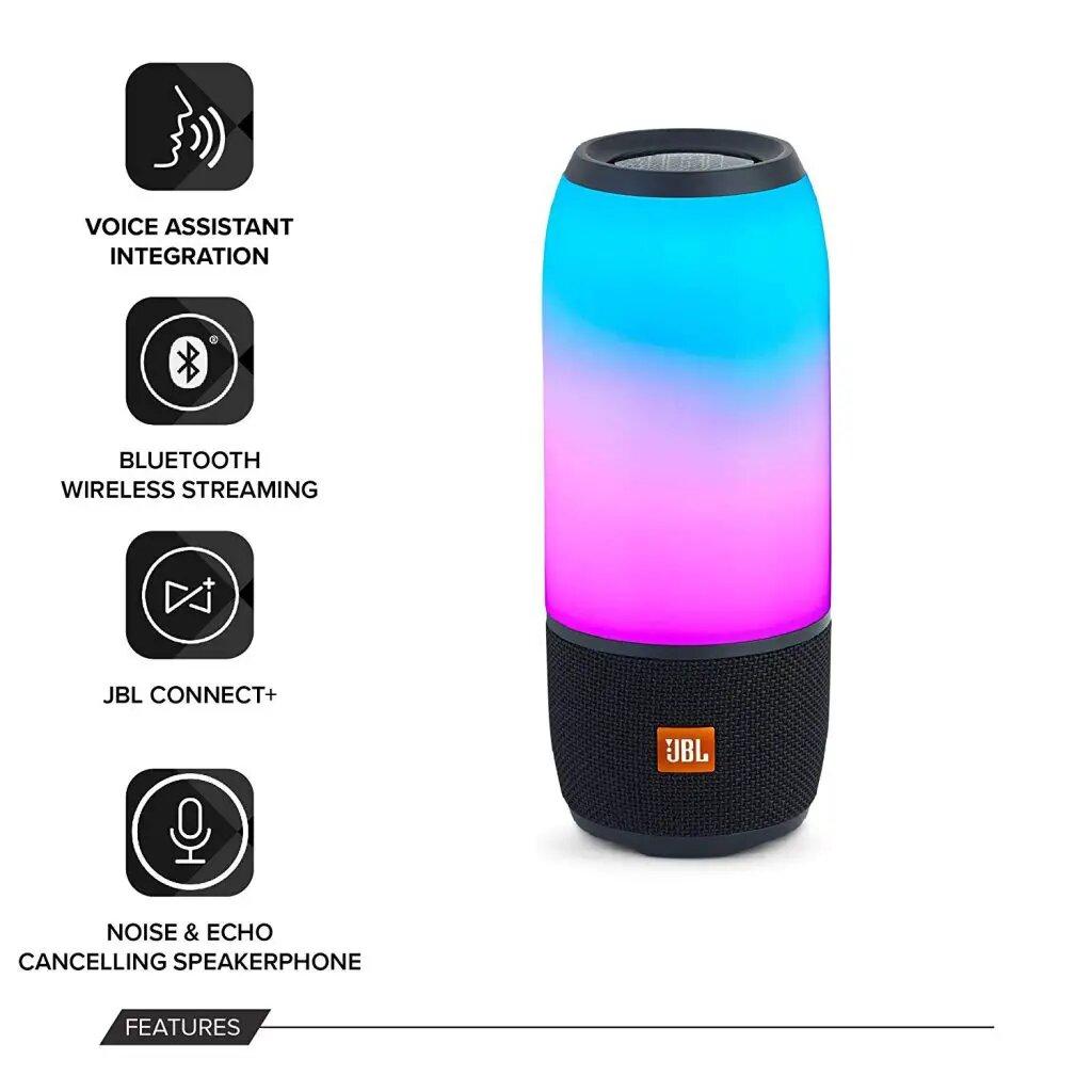 Waterproof JBL Pulse 3 Wireless Bluetooth Speaker