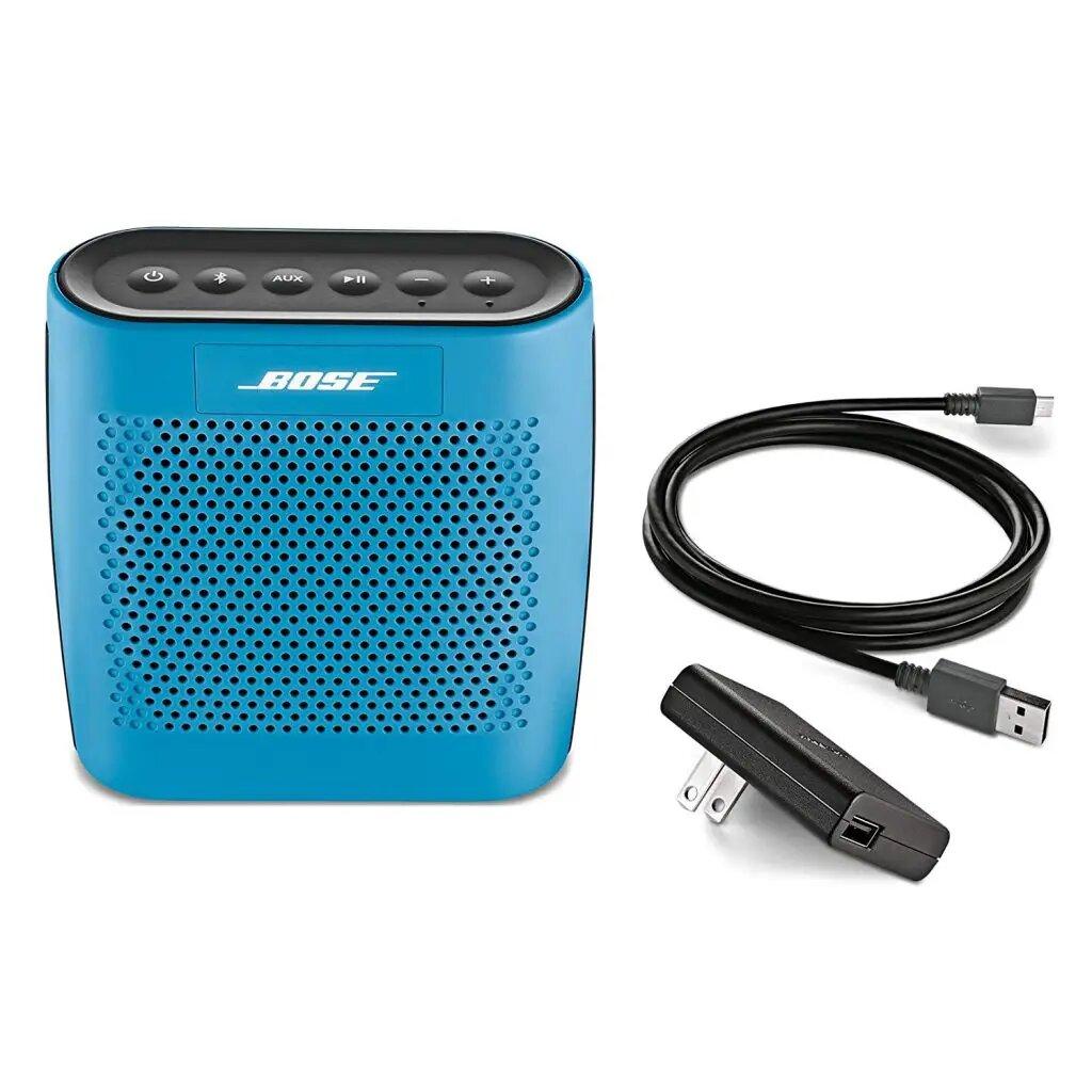 Blue Bose SoundLink Color Bluetooth Speaker