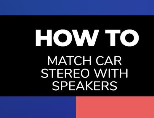 how to match car stereo to speakers