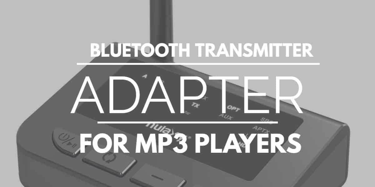 Bluetooth Transmitter Adapter For Mp3 Players