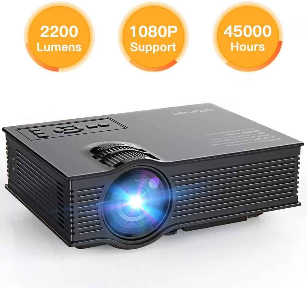 APEMAN Upgraded Full HD Pico Projector
