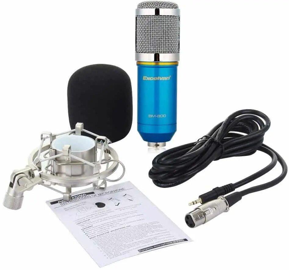 EXCELVAN BM-800 CONDENSER SOUND RECORDING MIC