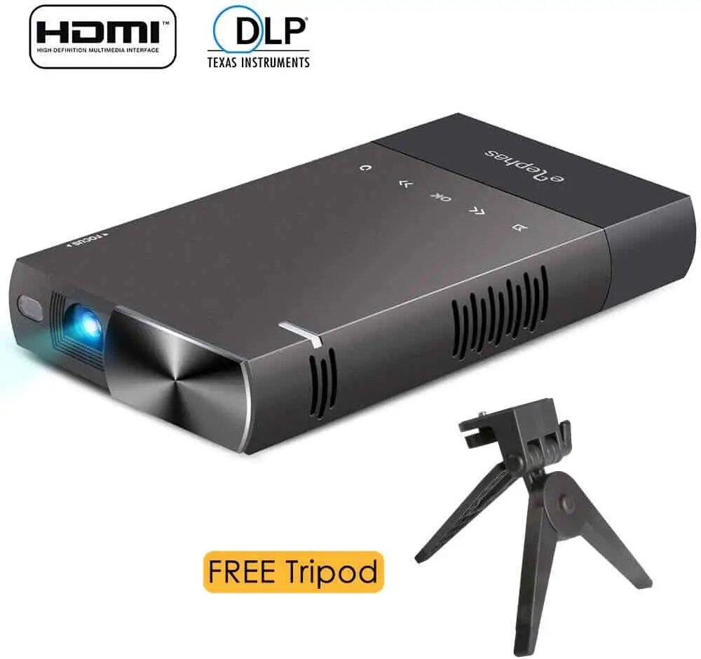 ELEPHAS 100 ANSI Lumen Pico Video Projector