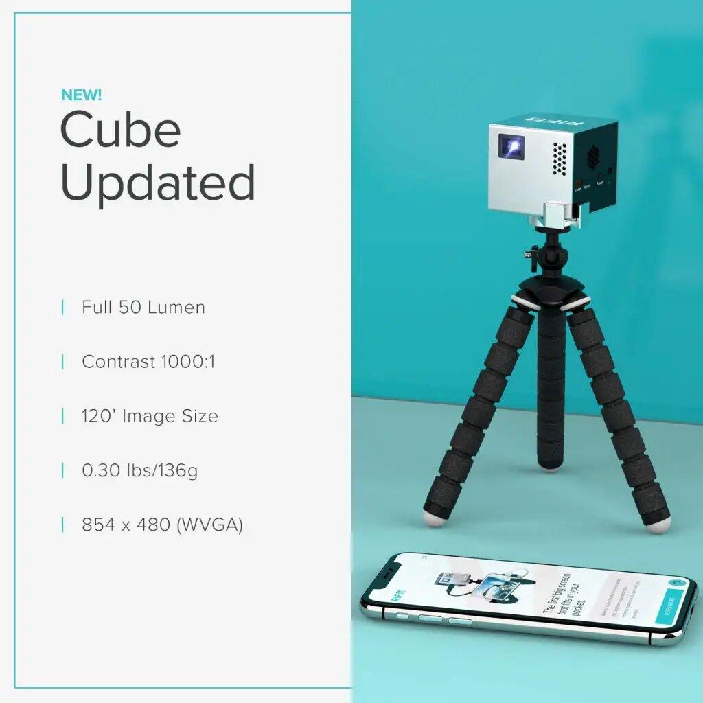 RIF6 CUBE Mobile Pico Projector