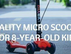 Quality micro scooter for 8-year-old Kids