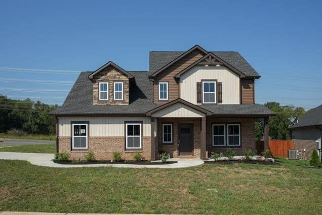 Eagles Bluff Clarksville TN, new homes for sale