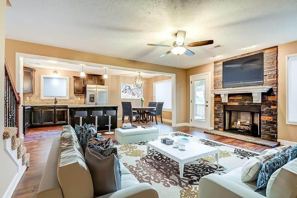 Locust Run subdivision Clarksville TN - new homes for sale