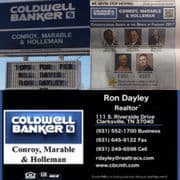 Coldwell Banker Conroy Marable & Holleman, coldwell banker, conroy marable & holleman, Ron Dayley, realtor clarksville tn