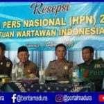 Bupati Sumenep Hadiri Resepsi HPN dan HUT ke 73 PWI