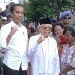 Jokowi - Ma'ruf ucapkan terima kasih kepada rakyat