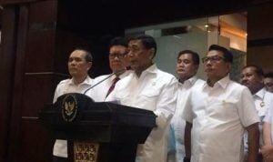 Wiranto apresiasi Prabowo minta pendukungnya hentikan kekerasan