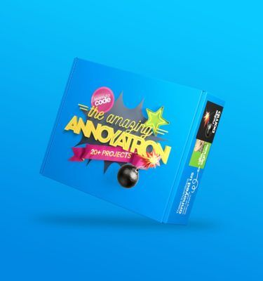 The Amazing Annoyatron: Award-winning coding kit by teen inventor Michael Nixon.