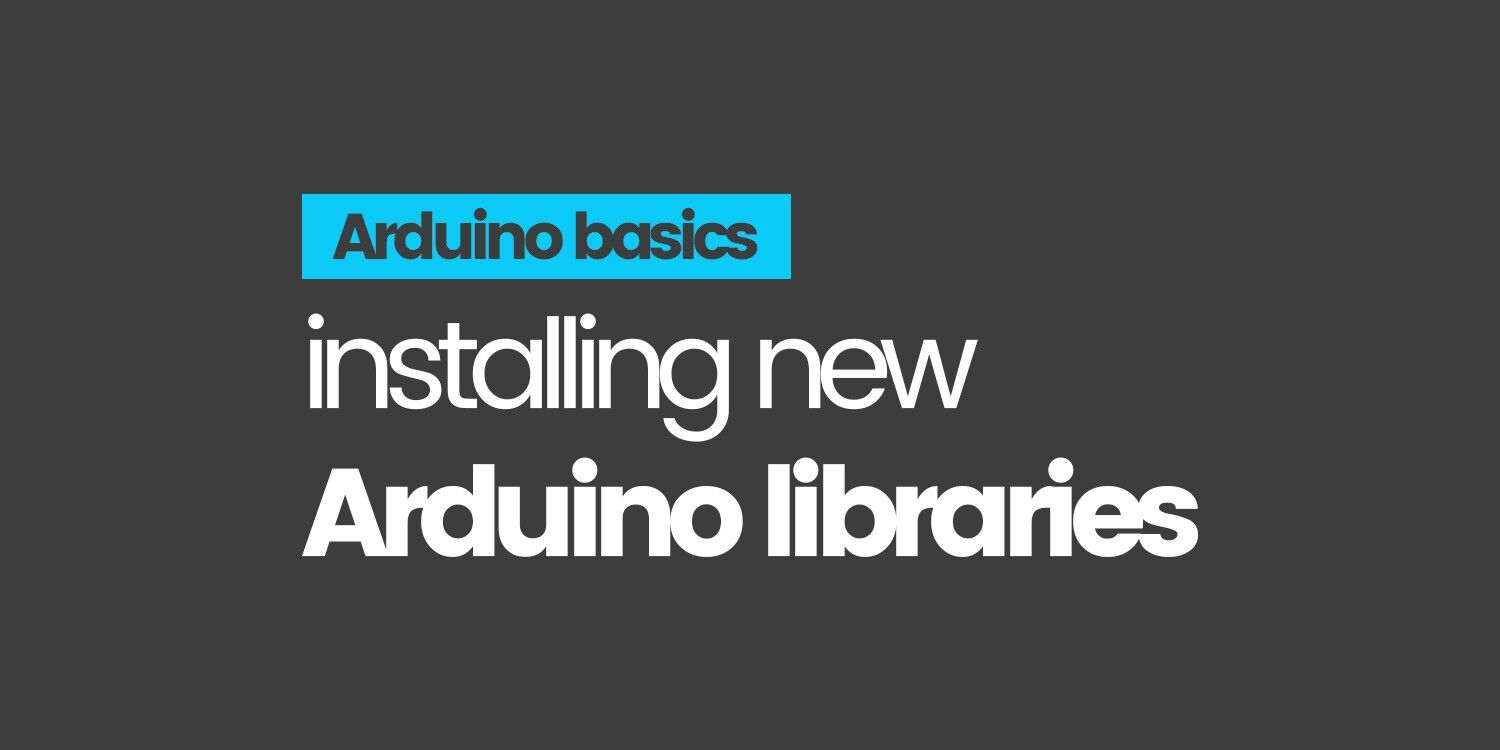 How to install Arduino libraries