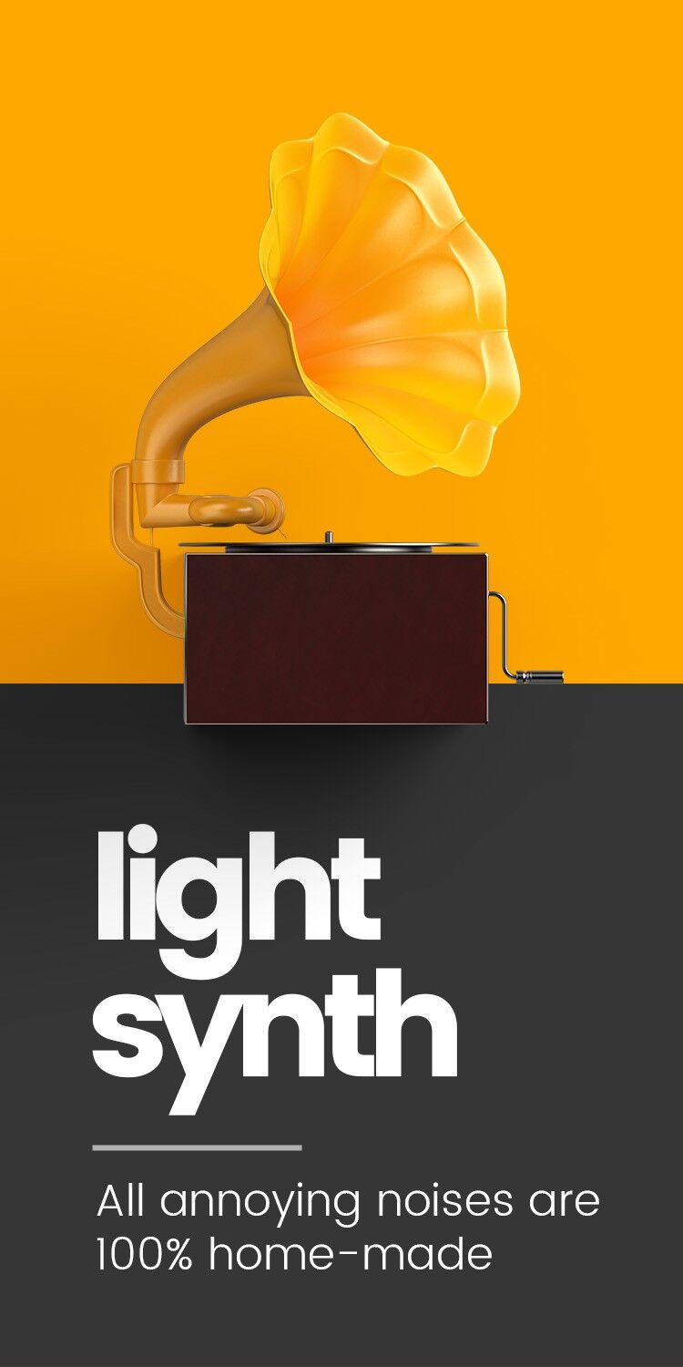 Light-controlled Synth