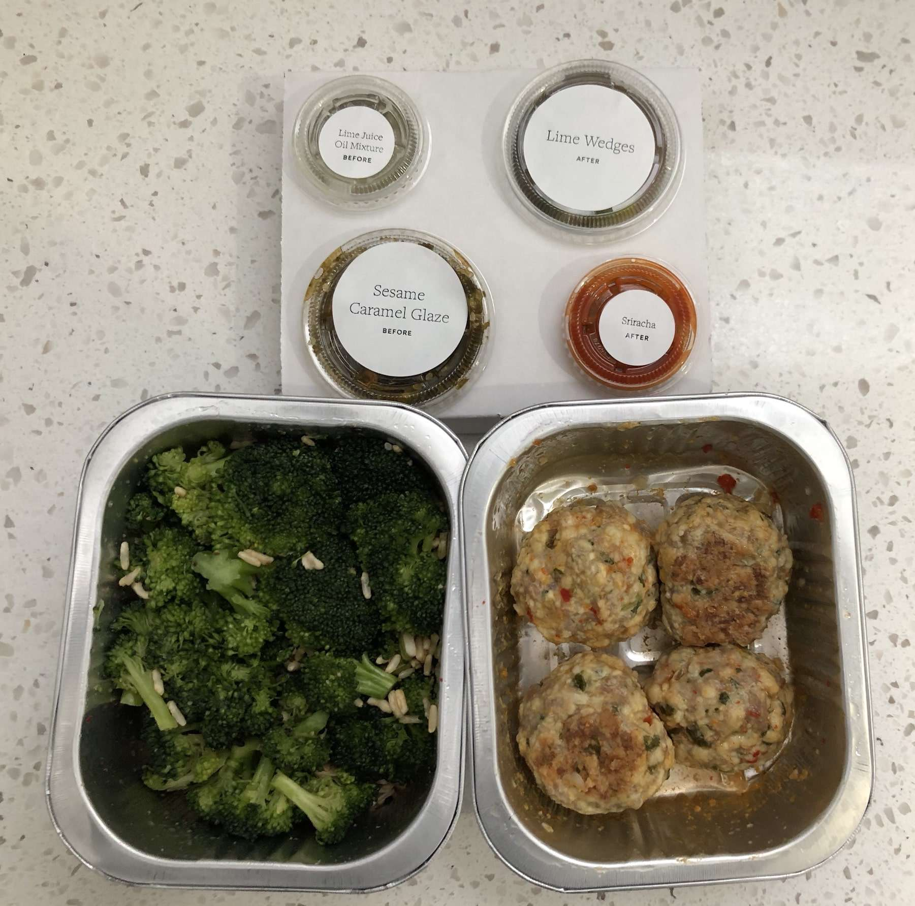 Tovala Smart Oven Review - We Tried it tovala-meal-sections