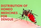 Distribution Of Homeo Medicines For Dengue