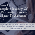 Webinar On A Complete Journey Of Case Witnessing Process From Basic To Advance