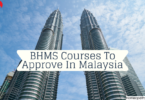 BHMS Courses To Approve In Malaysia