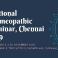National Homeopathic Seminar, Chennai 2019